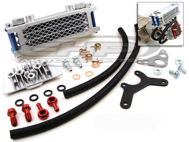 Oil Cooler, Heavy Duty Racing kit